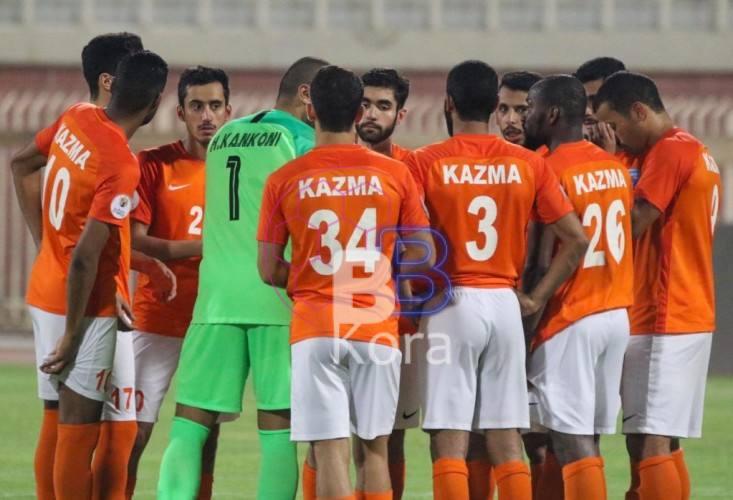 نتيجة مباراة كاظمة والجهراء كأس ولي العهد الكويتي