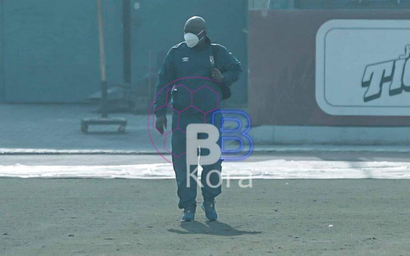 بالصورة الظهور الأول لموسيماني في الأهلي بعد كورونا