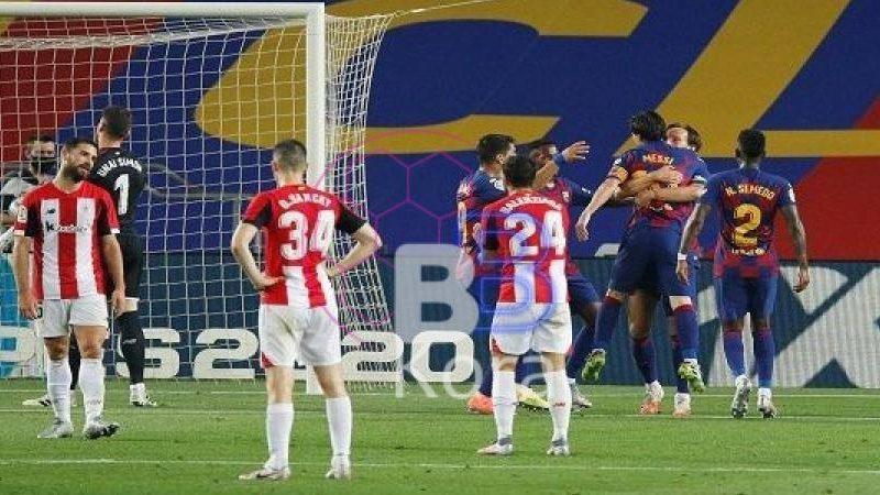موعد مباراة برشلونة وأتلتيك بيلباو في الدوري الإسباني والقنوات الناقلة