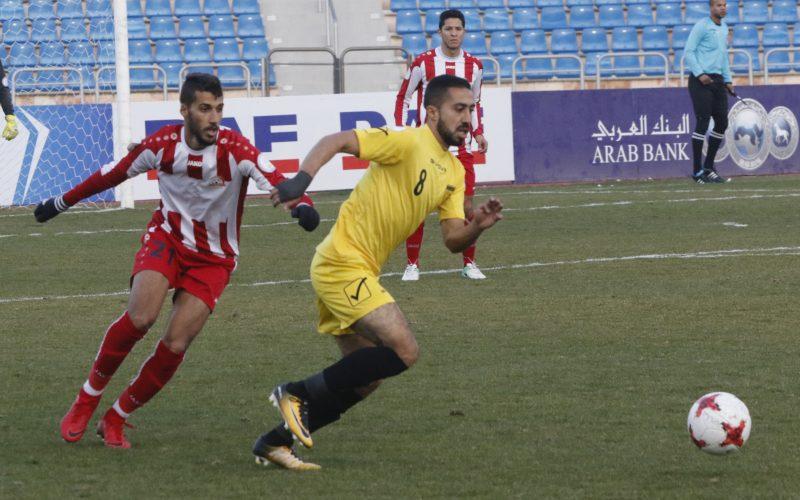 نتيجة مباراة شباب الأردن والحسين في الدوري الأردني للمحترفين