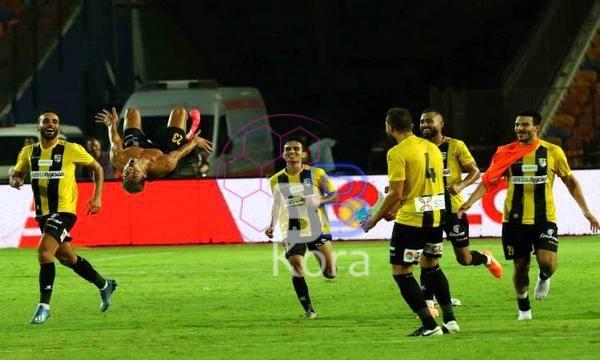 أهداف مباراة المقاولون العرب وسيراميكا في الدوري المصري