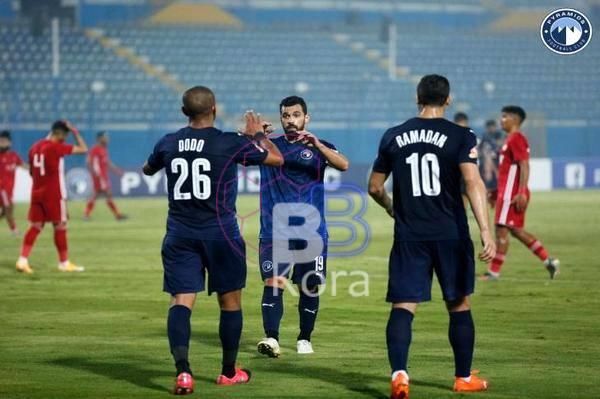 ملخص مباراة بيراميدز والبنك الأهلي في الدوري المصري