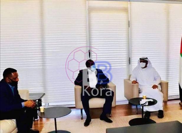 رئيس الهلال السوداني يلتقي وفد إماراتي