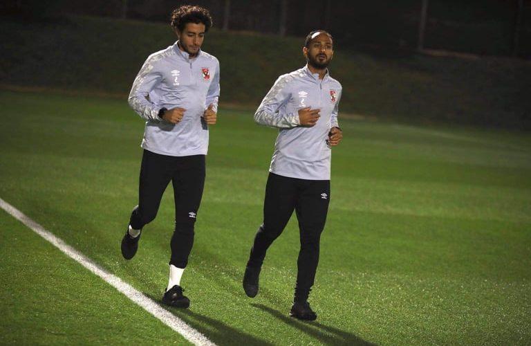 وليد سليمان ومحمد هاني يستكملان برنامجهما التأهيلي في قطر