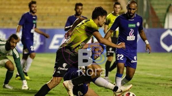 أهداف مباراة سموحة والمقاولون العرب اليوم في الدوري المصري