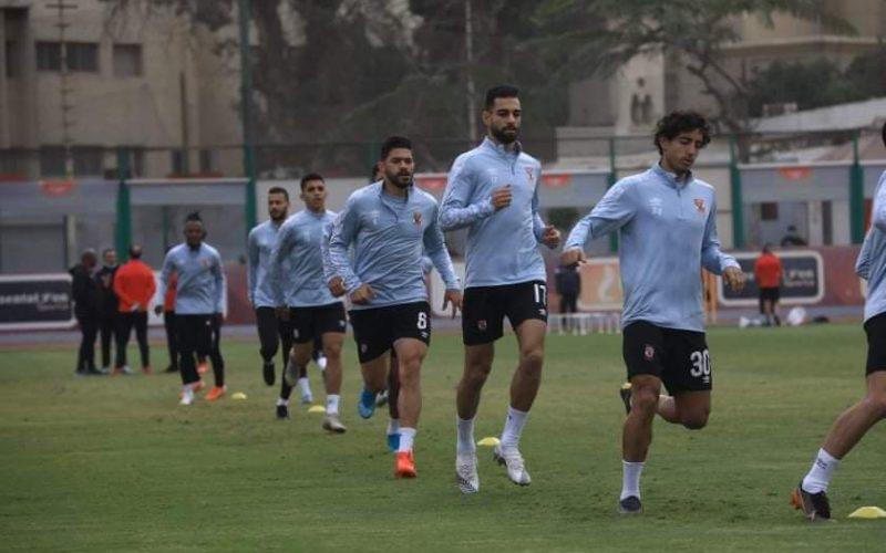 عمرو السولية ينتظم في تدريبات الأهلي الجماعية