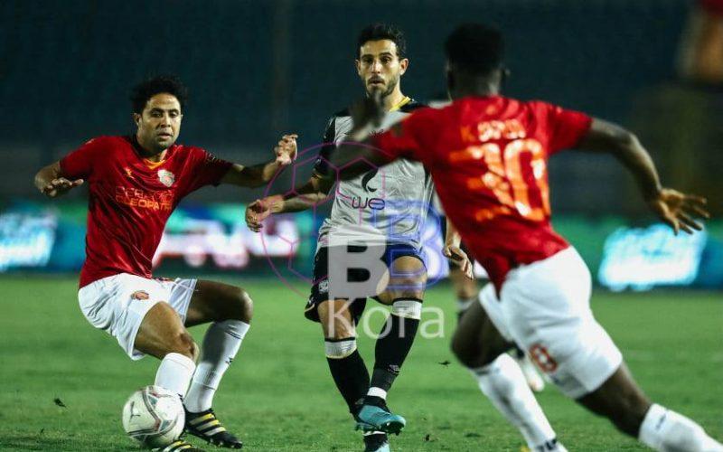 أهداف مباراة الأهلي وسيراميكا كيلوباترا في الدوري المصري