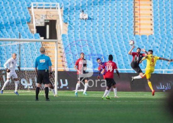 نتيجة مباراة الرائد والقادسية الدوري السعودي