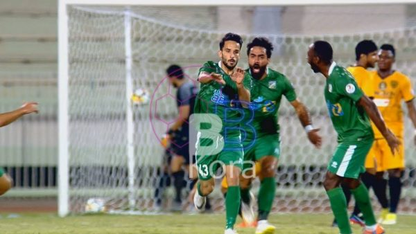 نتيجة الشوط الأول مباراة العربي والقادسية في كأس ولي العهد الكويتي