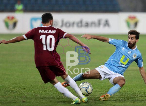 نتيجة مباراة الفيصلي ومعان الدوري الاردني
