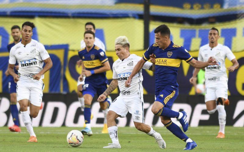 نتيجة مباراة سانتوس وبوكا جونيورز كأس الليبرتادوريس