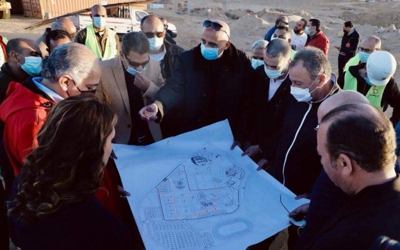 بالصور مجلس إدارة الأهلي يتفقد أعمال تطوير المنشآت بفرع الشيخ زايد
