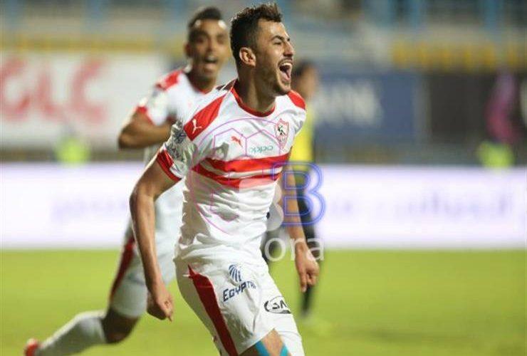 نتيجة مباراة الزمالك وإنبي الدوري المصري