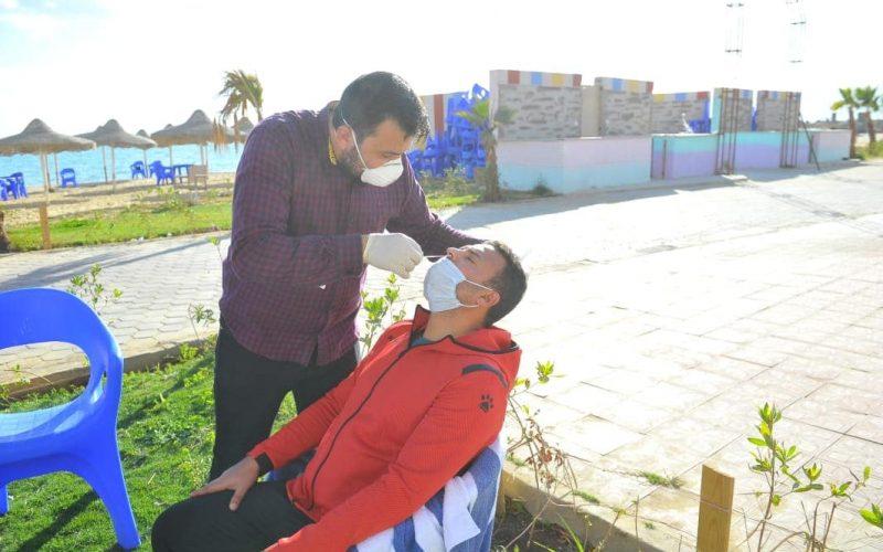 الأهلي يجري مسحة طبية استعدادا للمريخ السوداني