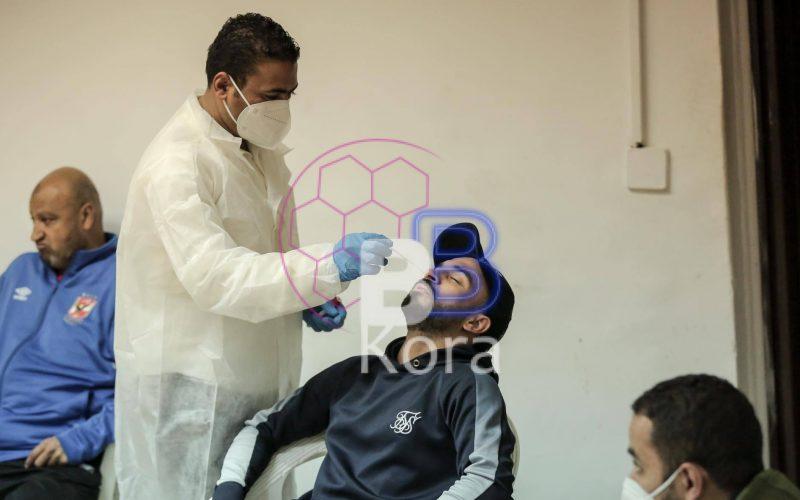 مسحة طبية قبل لمهاجم الأهلي الجديد قبل الانتظام في تدريب الأهلي