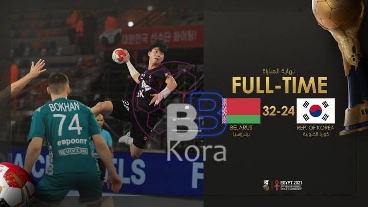 منتخب بيلاروسيا أول المتأهلين للدور الثاني من بطولة العالم