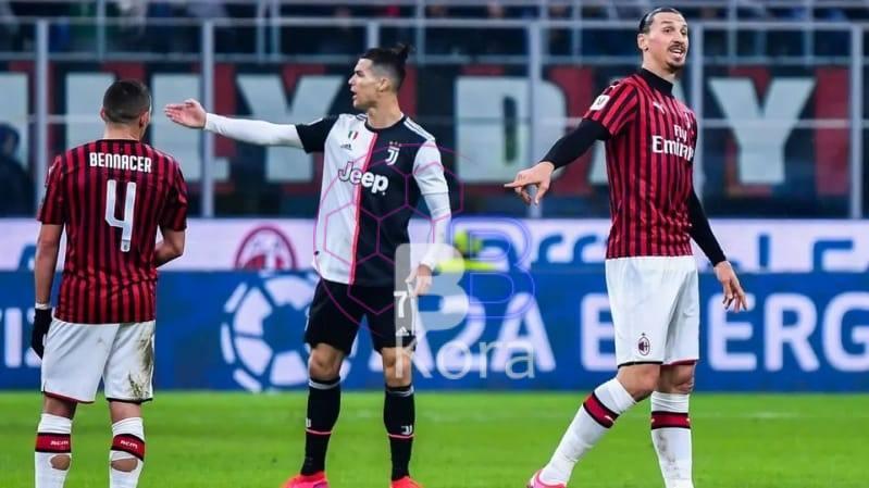 موعد مباراة ميلان ويوفنتوس في الدوري الإيطالي والقنوات الناقلة