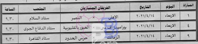اتحاد الكرة يعلن مواعيد المباريات المؤجلة من دور ال 32 لكأس مصر