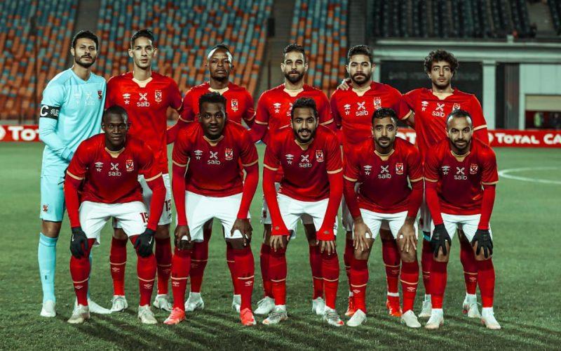 الأهلي يخوض مرانه الأخير على ملعب مواجهة سيمبا غدا