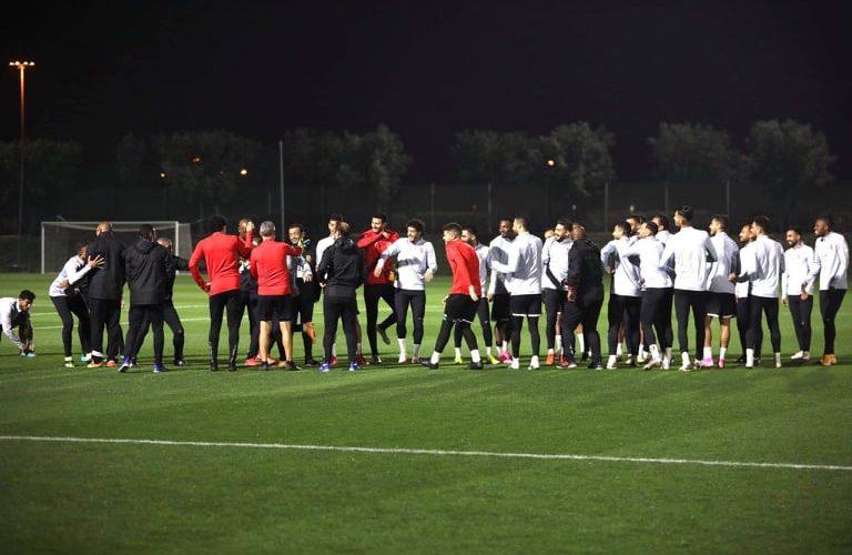 محاضرة فنية للأهلي استعداد للمونديال في قطر
