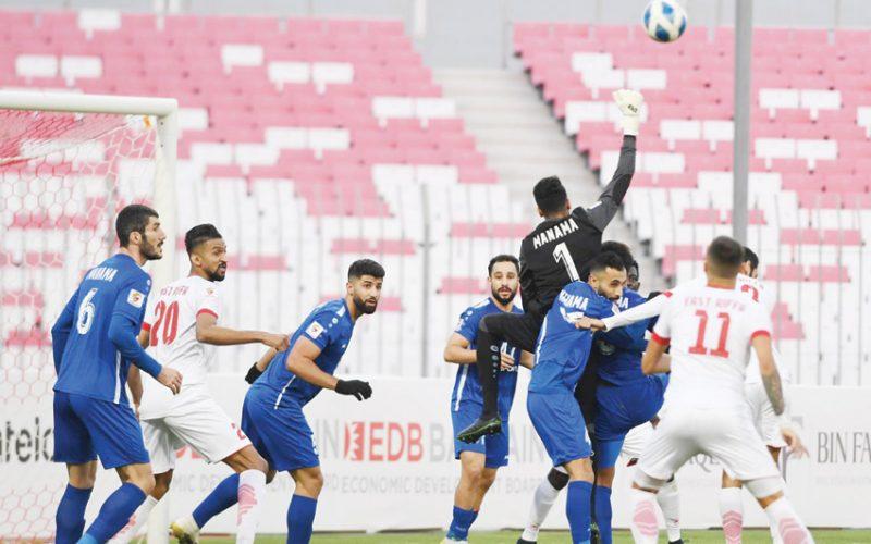 نتيجة مباراة الرفاع الشرقي والمحرق الدوري البحريني