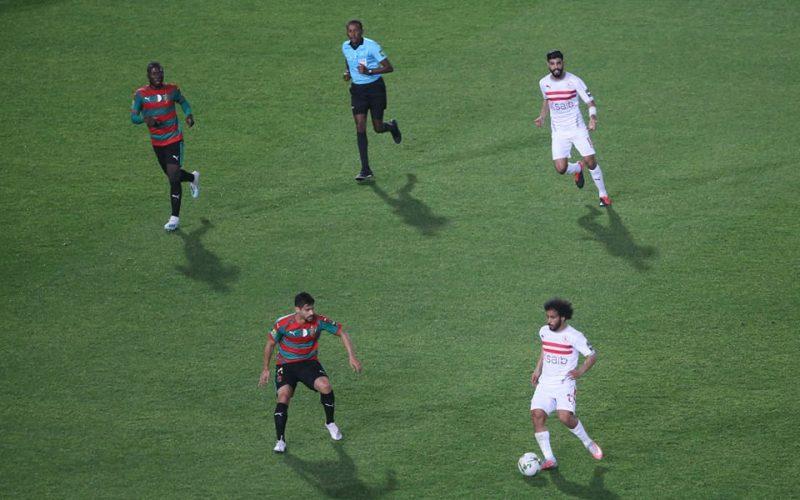 نتيجة مباراة الزمالك ومولودية الجزائر اليوم في دوري أبطال أفريقيا