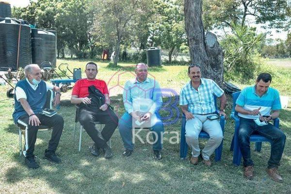 السفير المصري يدعم الأهلي في تنزانيا