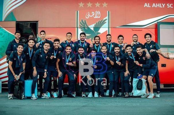وصول بعثة النادي الأهلي للقاهرة