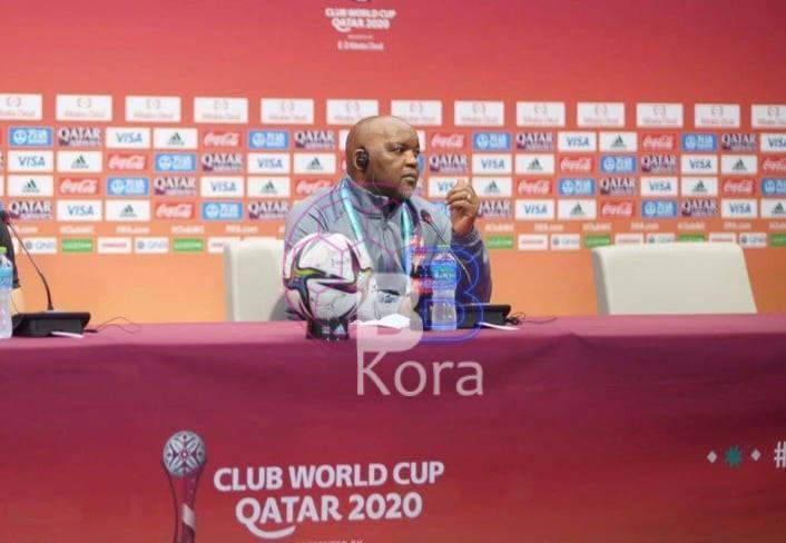 موسيماني: سنستمتع بمباراة بايرن ونحن أبطال إفريقيا