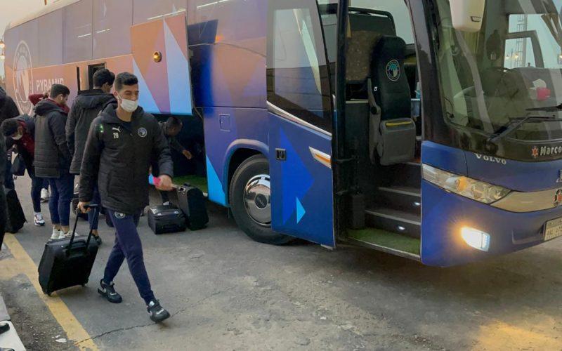 بيراميدز يصل لملعب بتروسبورت لمواجهة أسوان