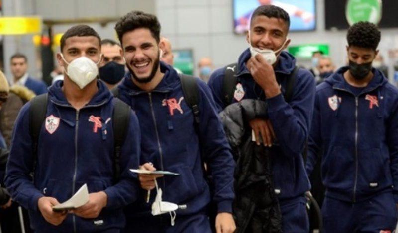 بعثة الزمالك تتحرك لمطار القاهرة