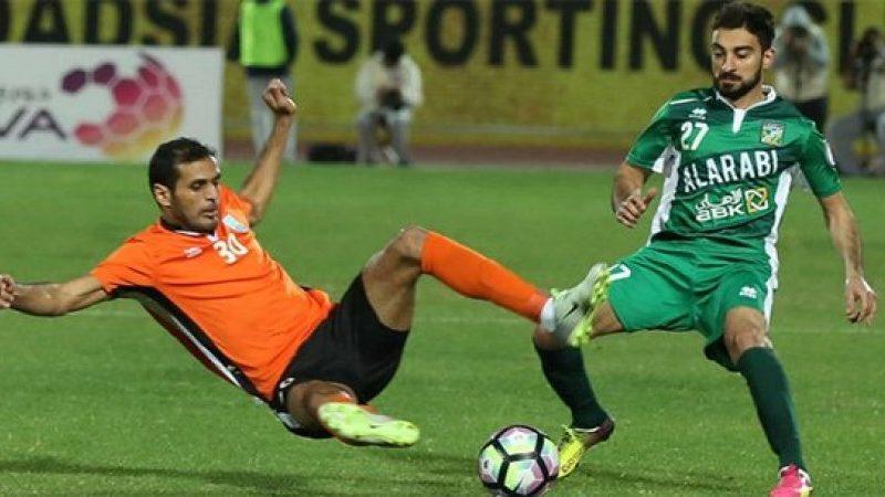 نتيجة مباراة العربي وكاظمة