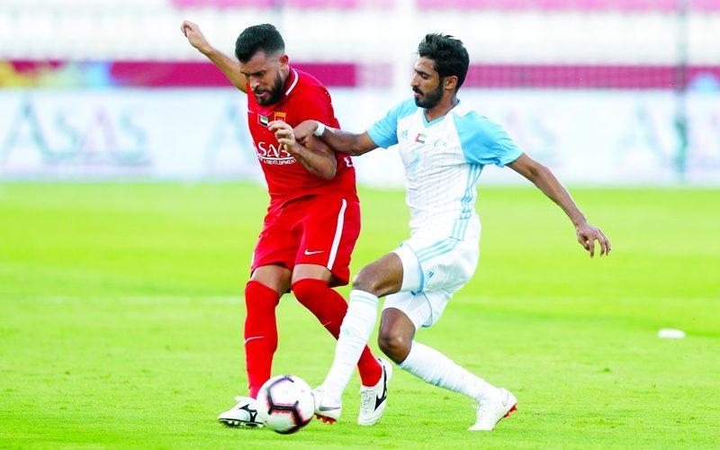 نتيجة مباراة بني ياس والفجيرة دوري الخليج العربي الاماراتي