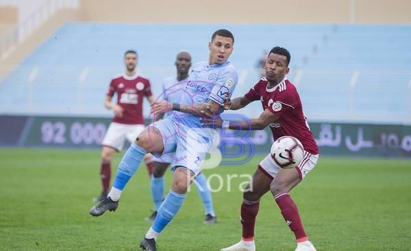 نتيجة مباراة الباطن والفيصلي الدوري السعودي