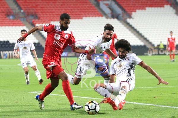 نتيجة مباراة الجزيرة والشارقة اليوم في دوري الخليج العربي