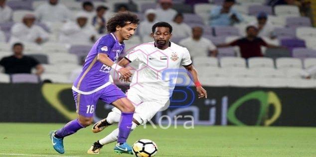 نتيجة مباراة العين وشباب الأهلي دبي الدوري الإماراتي