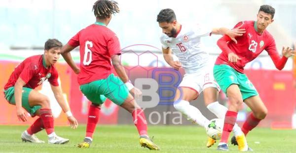 نتيجة مباراة المغرب وتونس اليوم في كأس إفريقيا للشباب