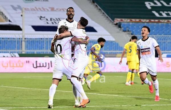 نتيجة مباراة الشباب والأهلي الدوري السعودي