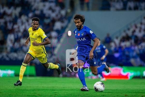 نتيجة مباراة النصر والهلال الدوري السعودي