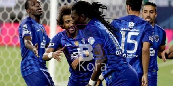 نتيجة مباراة الهلال وضمك الدوري السعودي