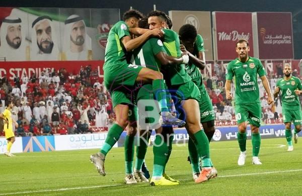 نتيجة مباراة حتا وشباب الأهلي دبي الدوري الإماراتي