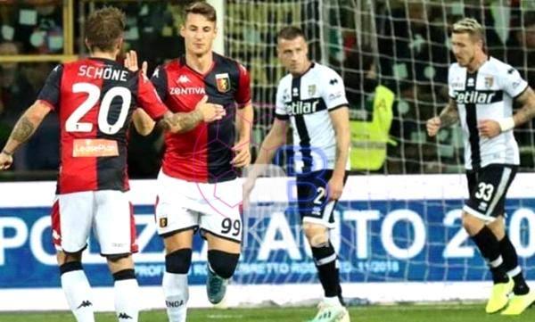 نتيجة مباراة بارما وجنوى في الدوري الإيطالي