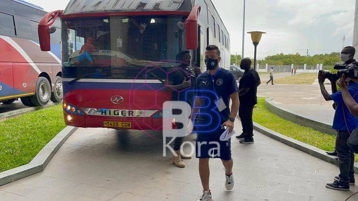 بيراميدز يصل ملعب بنجامين مكابا استعدادا لمواجهة نامونجو