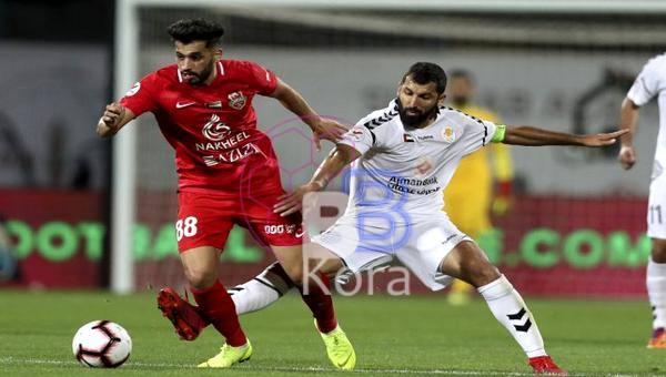 نتيجة مباراة عجمان وشباب الأهلي دبي اليوم في دوري الخليج العربي