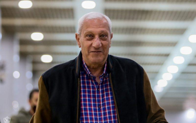 عماد عبدالعزيز يعبر عن ثقتة في لاعبي الزمالك