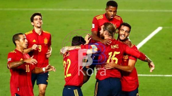 نتيجة مباراة إسبانيا واليونان اليوم في تصفيات كأس العالم