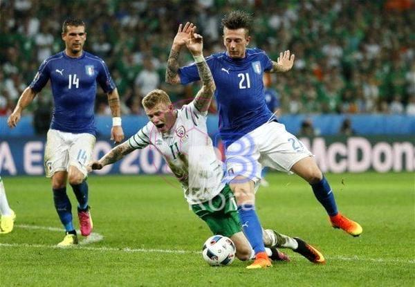 نتيجة مباراة إيطاليا وإيرلندا الشمالية اليوم في تصفيات كأس العالم
