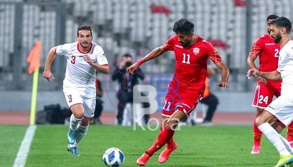 نتيجة مباراة البحرين والأردن اليوم في مباراة ودية