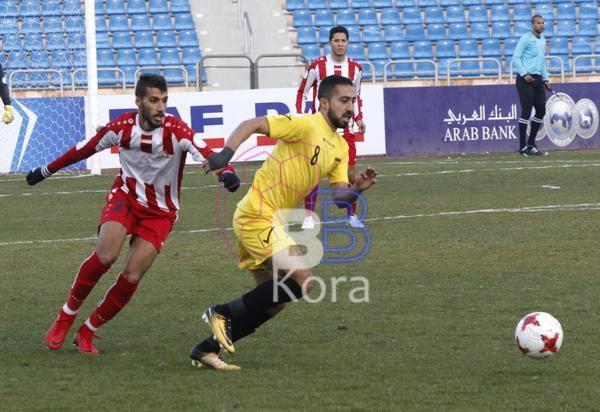 نتيجة مباراة الحسين إربد وشباب الأردن في درع الاتحاد الأردني