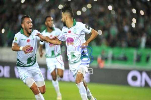 نتيجة مباراة الرجاء وإتحاد سيدي قاسم اليوم في كأس العرش المغربي